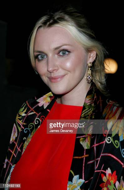 Sophie Dahl during Celebrity Sightings at Philippe Chow in New York City October 18 2006 at Philippe Chow in New York City New York United States