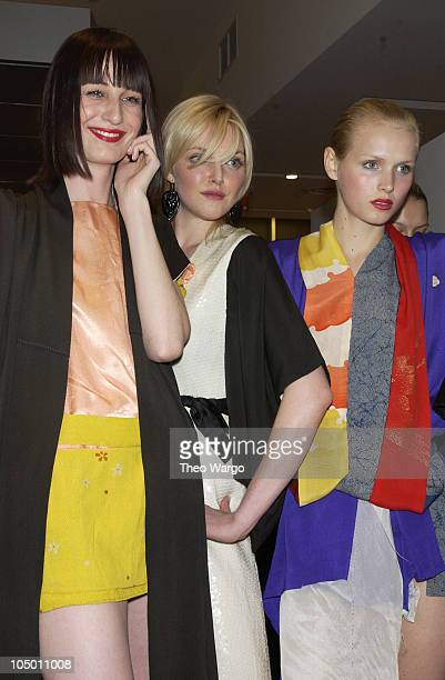 Sophie Dahl during Imitation of Christ Fashion Show at Maurice Villency store in New York City New York United States