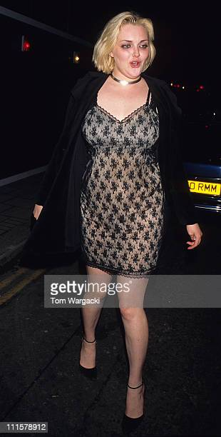 Sophie Dahl during Sophie Dahl at Browns in 1997 at Browns Club