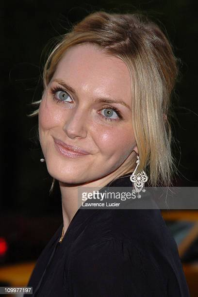 Sophie Dahl during Sophie Dahl Sighting in New York City May 16 2005 at Central Park South in New York NY United States