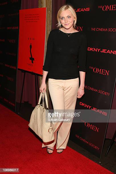Sophie Dahl during The Cinema Society DKNY Jeans present a special screening of The Omen arrivals at Angel Orensanz Foundation at 172 Norfolk Street...