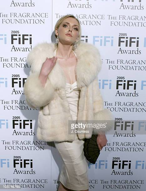 Sophie Dahl during The Fragrance Foundation's 2005 FiFi Awards Arrivals at Hammerstein Ballroom in New York City New York United States