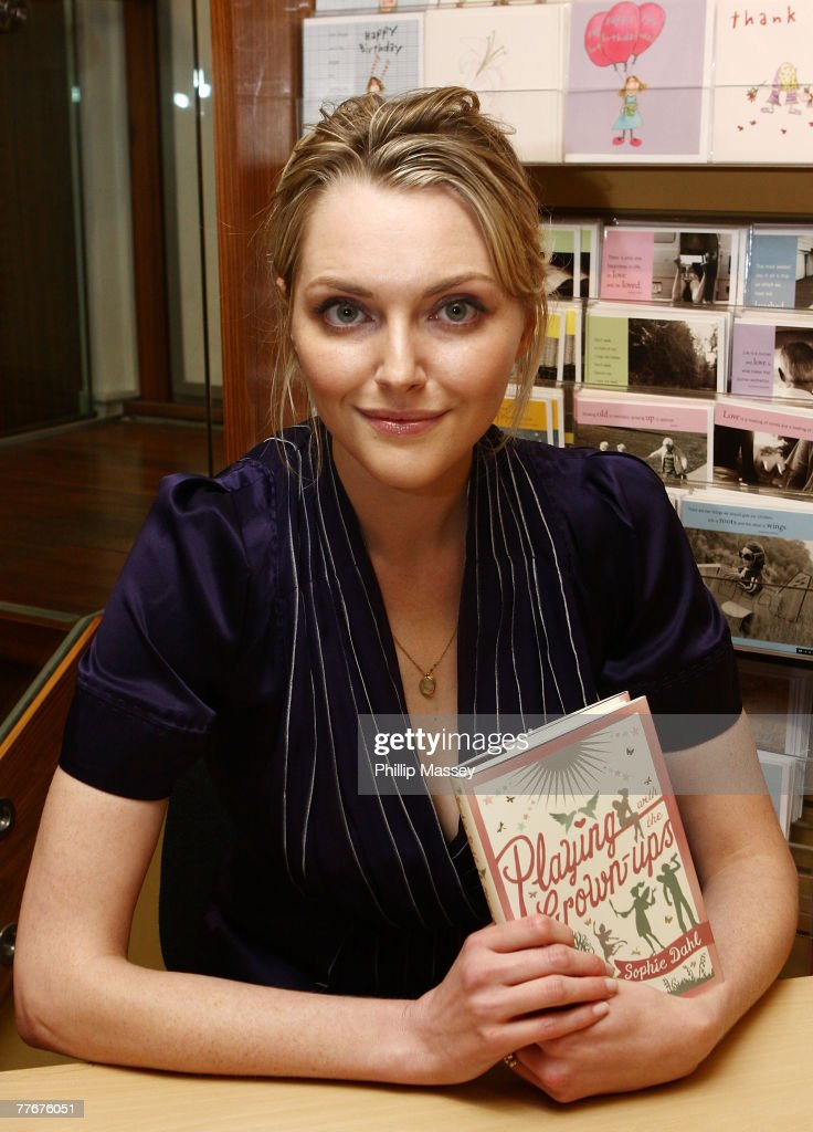 "Sophie Dahl Signs Copies of Her Book ""Playing with the Grown-ups"""