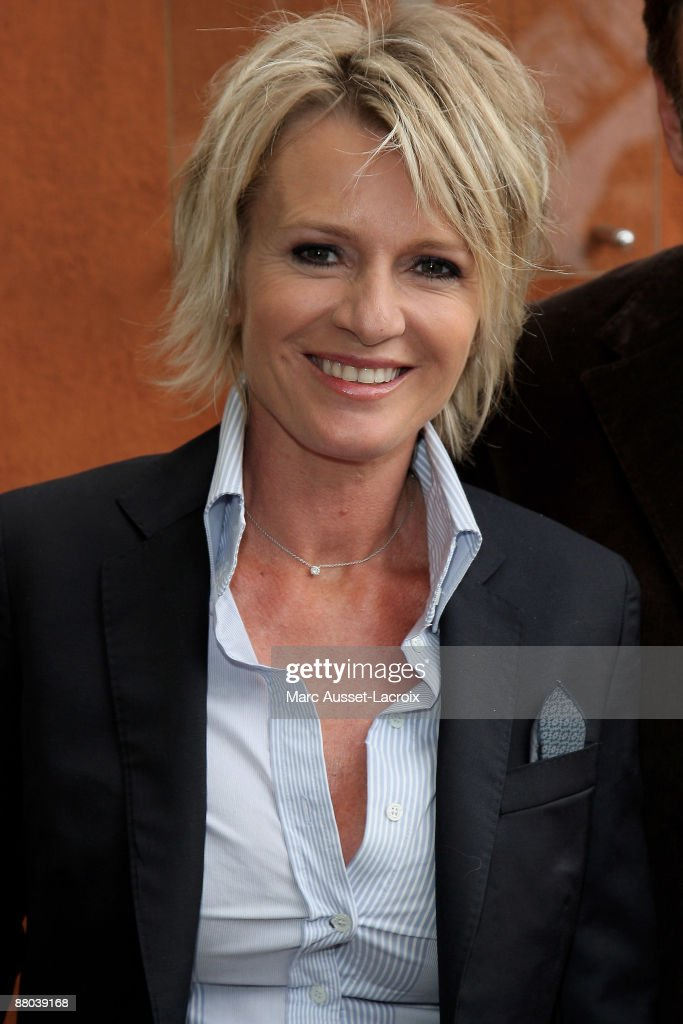 Sophie Davant arrives at 'Le Village' during the 2009 French Tennis Open at Roland Garros arena on May 28, 2009 in Paris, France.