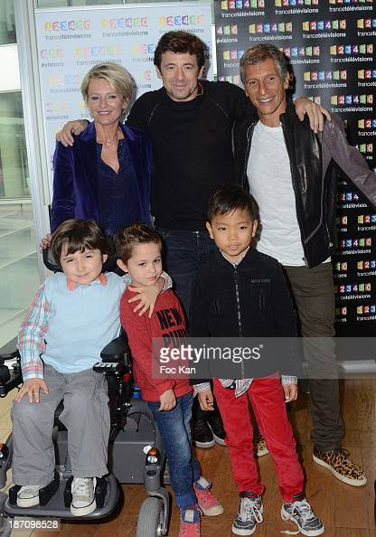 Sophie Davant Patrick Bruel And Nagui Fam And Kids Attend The News Photo Getty Images