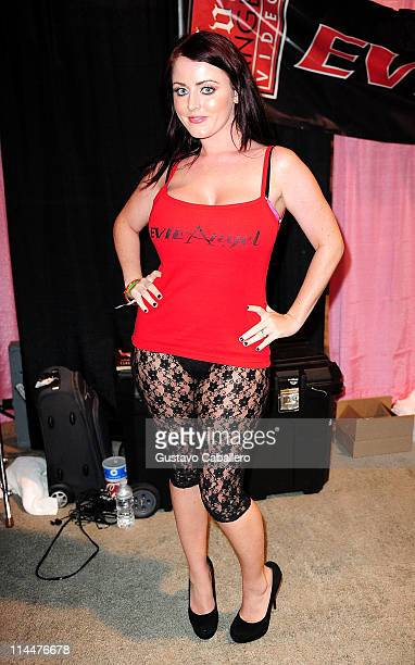 Sophie Dee attends EXXXOTICA Miami Beach at the Miami Beach Convention Center on May 20 2011 in Miami Beach Florida