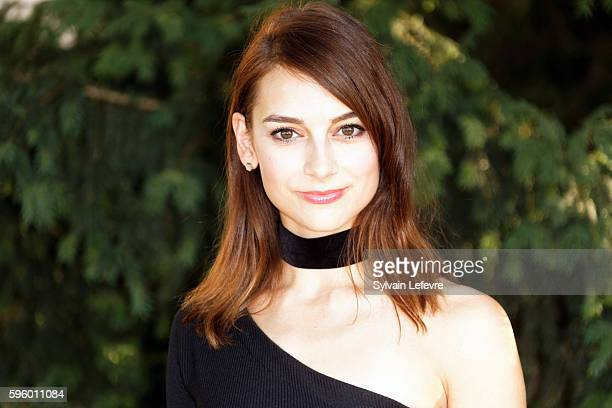 Sophie Desmarais attends 9th Angouleme FrenchSpeaking Film Festival on August 26 2016 in Angouleme France