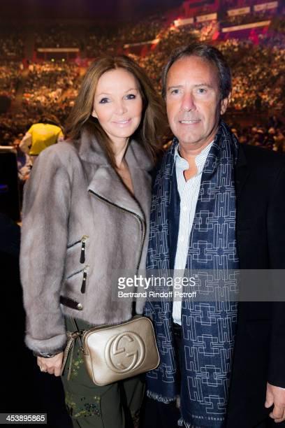 Sophie Desmarais attends Celine Dion's Concert at Palais Omnisports de Bercy on December 5 2013 in Paris France