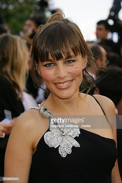 Sophie Duez arrives at the premiere of 'L'Age Des Tenebres' during the 60th Cannes Film Festival