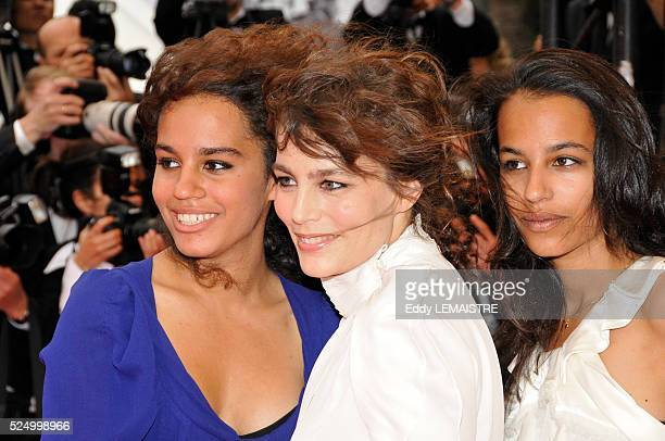 """Sophie Duez at the premiere of """"What Just Happened ?"""" during the 61st Cannes Film Festival."""