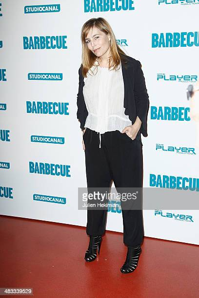 Sophie Duez attends the 'Barbecue' Premiere at Cinema Gaumont Capucine on April 7 2014 in Paris France