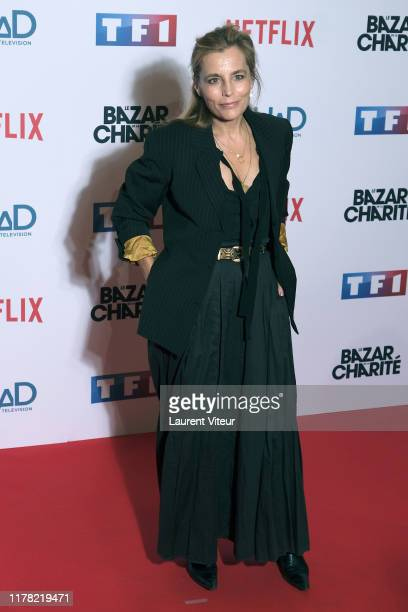 Sophie Duez attends the Le Bazar De La Charite Photocall At Le Grand Rex on September 30 2019 in Paris France