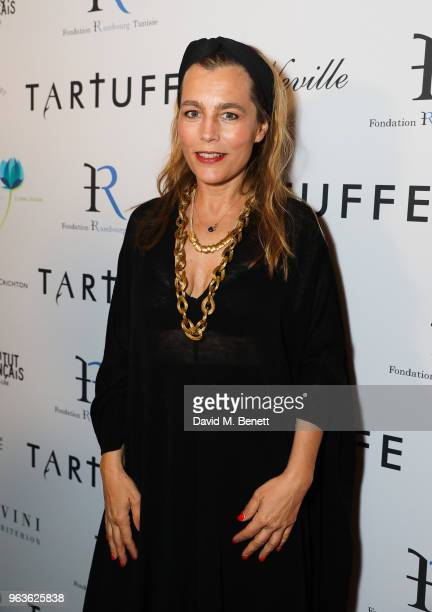 Sophie Duez attends the press night after party for Tartuffe at Savini at Criterion on May 29 2018 in London England