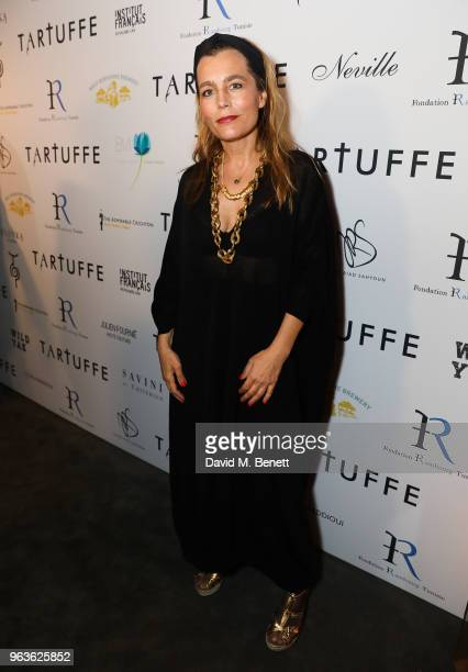 Sophie Duez attends the press night after party for 'Tartuffe ' at Savini at Criterion on May 29 2018 in London England