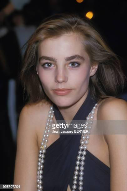 Sophie Duez au Festival du Film Italien de Nice le 2 décembre 1984 France