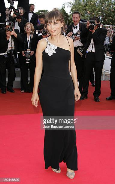 Sophie Duez during 2007 Cannes Film Festival Palme D'Or Arrivals at Palais des Festivals in Cannes France