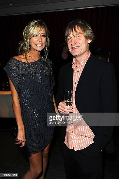 Sophie Dymoke and Julian Jarrold attend the predrinks party of Brideshead Revisited at Bluebird on September 29 2008 in London England