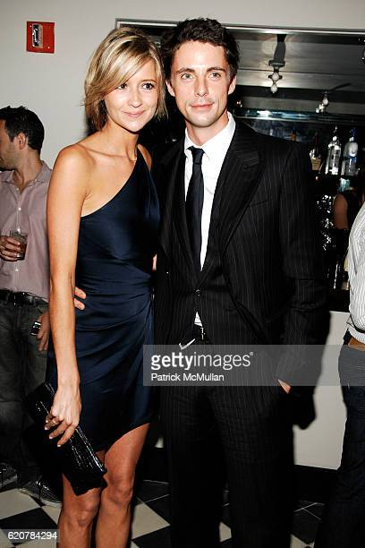 Sophie Dymoke and Matthew Goode attend THE CINEMA SOCIETY VICTORINOX host the after party for BRIDESHEAD REVISITED at Gramercy Park Hotel on July 22...