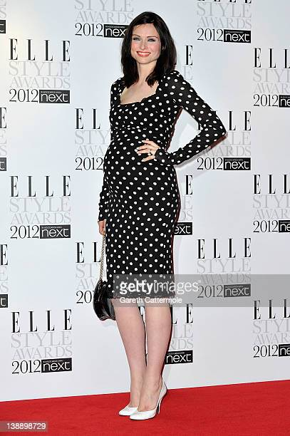 Sophie Eliis Bextor arrives for The Elle Style Awards 2012 at The Savoy Hotel on February 13 2012 in London England