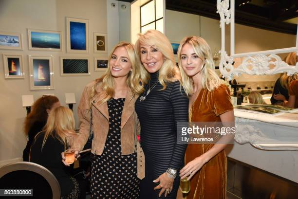 Sophie Elkus Linda Thompson and Kaitlynn Carter attend ELLE The Harmonist celebrate fragrance and feng shui on October 12 2017 in Los Angeles...