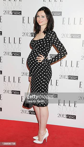 Sophie Ellis Bexter arrives at the ELLE Style Awards at The Savoy Hotel on February 13 2012 in London England