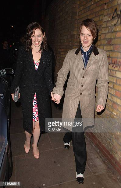 Sophie Ellis Bextor and husband Richard Jones during ELLE Style Awards 2006 After Party at Atlantis Gallery Old Truman Brewery in London Great Britain