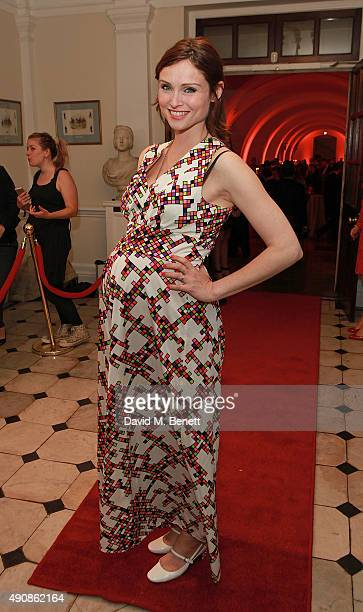 Sophie Ellis Bextor attends a fundraising event in aid of the Nepal Youth Foundation hosted by David Walliams at Banqueting House on October 1 2015...