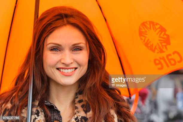 Sophie Ellis Bextor attends a march calling for gender equality organised by Care International on March 4 2018 in London England