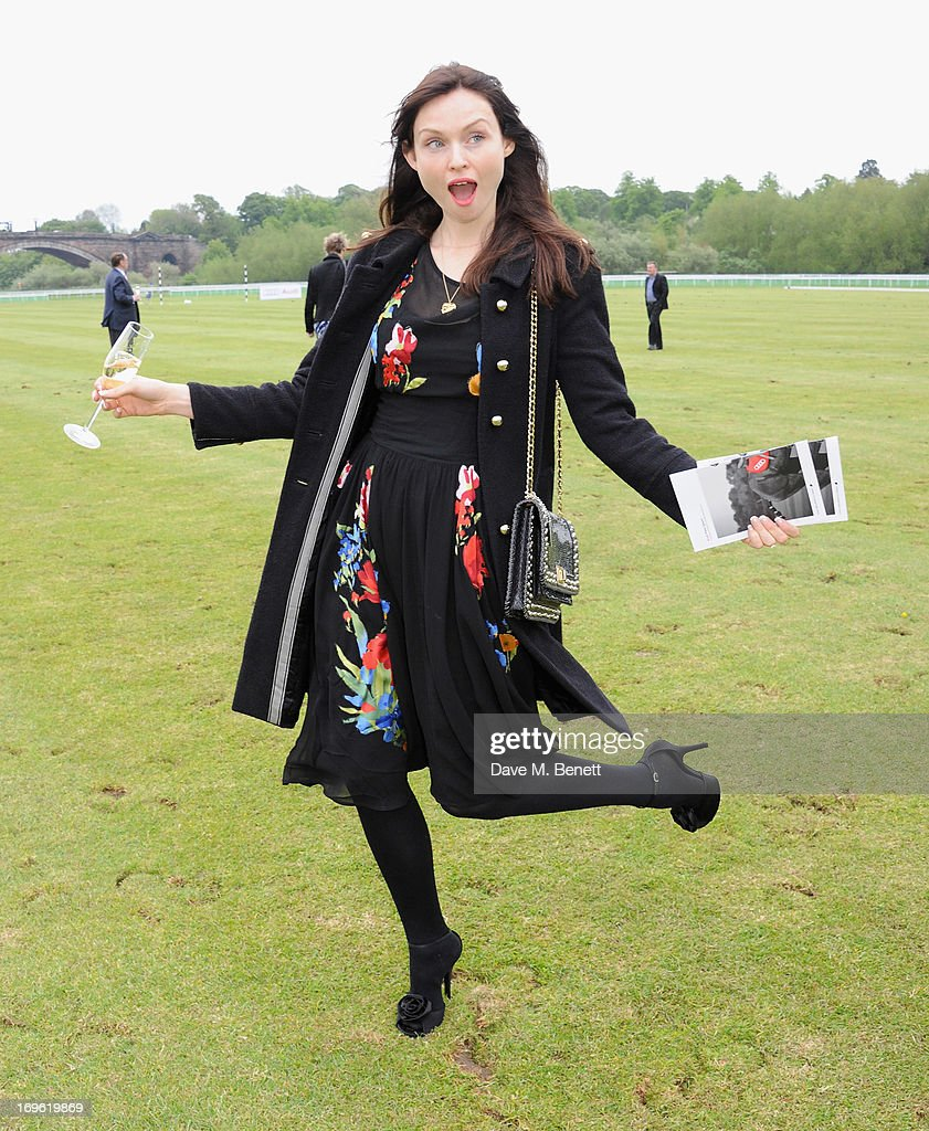 Sophie Ellis Bextor attends the Audi Royal Polo Challenge 2013 at Chester Racecourse on May 29, 2013 in Chester, England.