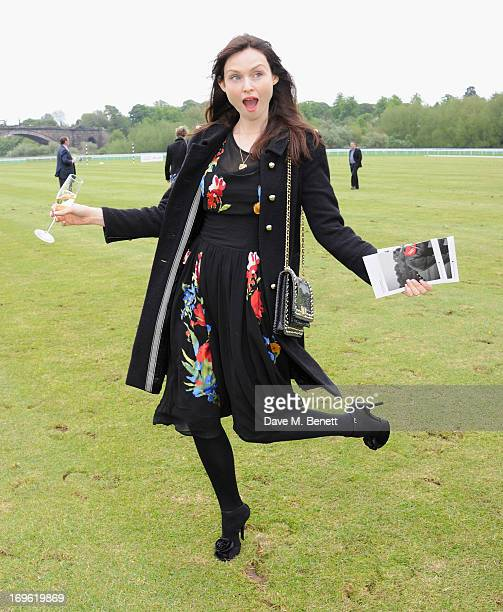 Sophie Ellis Bextor attends the Audi Royal Polo Challenge 2013 at Chester Racecourse on May 29 2013 in Chester England