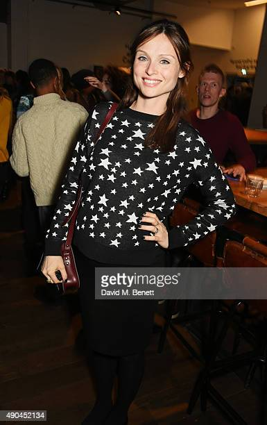 Sophie Ellis Bextor attends the press night after party for 'Tipping The Velvet' at The Lyric Hammersmith on September 28 2015 in London England
