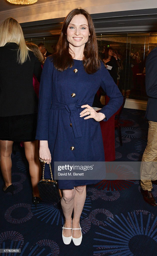 Sophie Ellis Bextor attends the TRIC Television and Radio Industries Club Awards at the Grosvenor House Hotel on 11, 2014 in London, England.