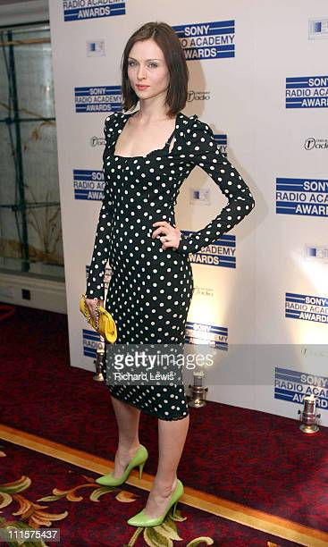 Sophie Ellis Bextor during 2006 Sony Radio Academy Awards Inside Arrivals at Grosvenor House in London Great Britain