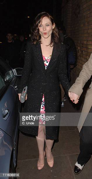 Sophie Ellis Bextor during ELLE Style Awards 2006 After Party at Atlantis Gallery Old Truman Brewery in London Great Britain