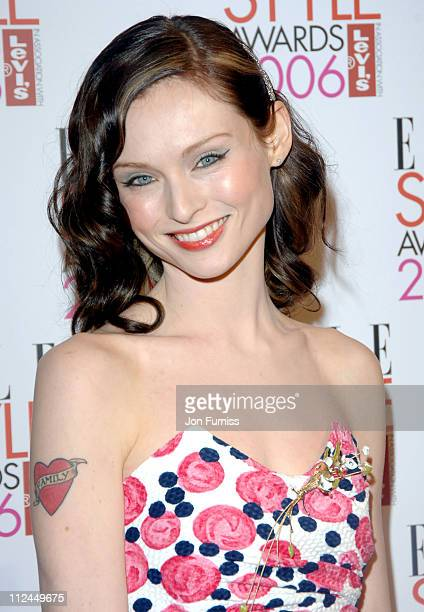 Sophie Ellis Bextor during Elle Style Awards 2006 Inside Arrivals at Old Truman Brewery in London Great Britain