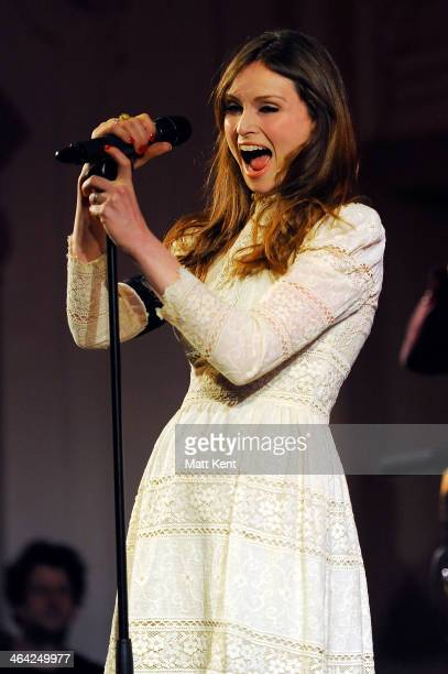 Sophie Ellis Bextor launches her new album with a performance at Bush Hall on January 21 2014 in London England