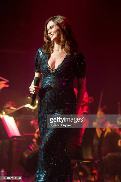 Sophie Ellis Bextor peforms at The Royal Festival Hall on October 3 2018 in London England