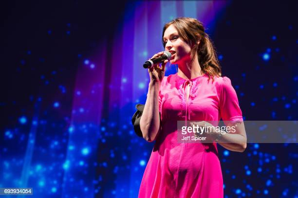 Sophie Ellis Bextor performs at the National Youth Theatre's 'A Night for Life' at Park Lane Hotel on June 8 2017 in London England