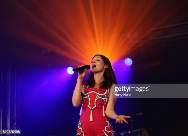 Sophie Ellis Bextor performs on Day 1 of Cornbury Festival on July 7 2017 in Oxford United Kingdom