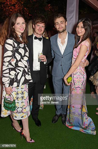 Sophie Ellis Bextor Richard Jones Douglas Booth and Gemma Chan attend the Glamour Women Of The Year awards at Berkeley Square Gardens on June 2 2015...