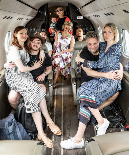 GBR: Celebrities Head To The MMG Jersey Style Awards 2019