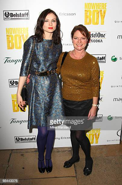 Sophie EllisBextor and Janet Ellis attend the After party for the London Premiere of 'Nowhere Boy' hosted by Quintessentially at The House of St...