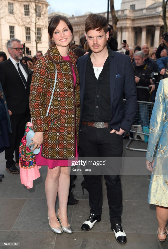 Sophie Ellis-Bextor and Richard Jones attend the Portrait Gala 2017 at the National Portrait Gallery on March 28, 2017 in London, England.