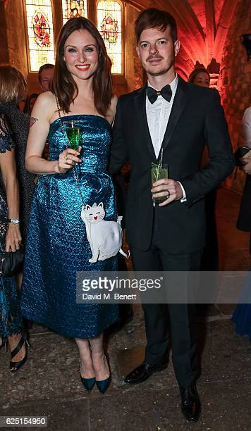 Sophie EllisBextor and Richard Jones attend the Save The Children Winter Gala at The Guildhall on November 22 2016 in London England