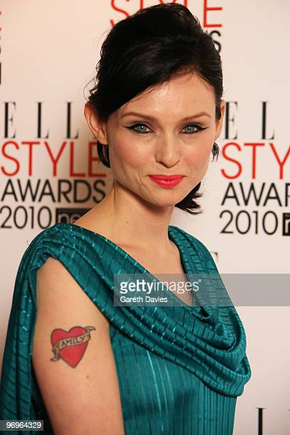 Sophie EllisBextor arrives at the Elle Style Awards 2010 held at The Grand Connaught Rooms on February 22 2010 in London England