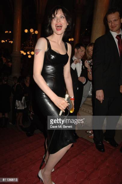 Sophie EllisBextor arrives at the Life Ball 2008 Europe's largest Gala againts HIV and aids held at the Town Hall Square on May 17 2008 in Vienna...