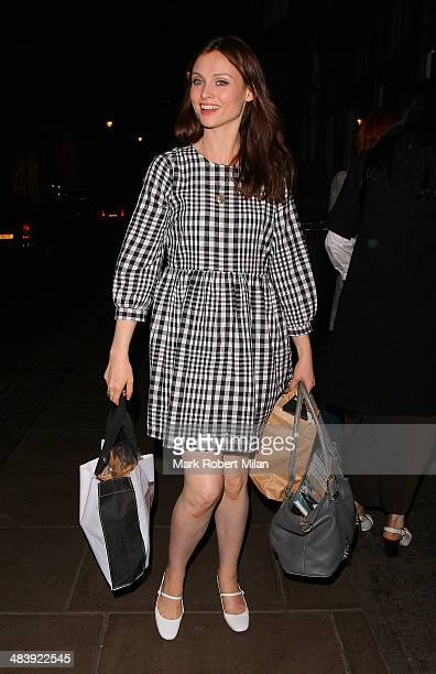 Sophie EllisBextor at the Groucho club on April 10 2014 in London England