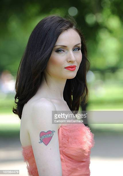 Sophie EllisBextor attends a photocall to launch Sky Broadband's Twitter campaign to find the best alternative ending for fairytales on June 24 2010...