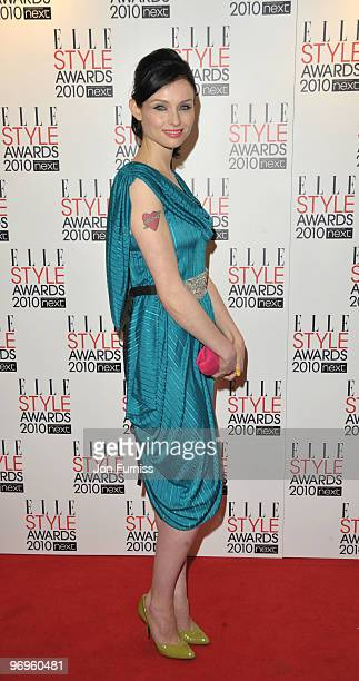 Sophie EllisBextor attends the ELLE Style Awards 2010 at Grand Connaught Rooms on February 22 2010 in London England