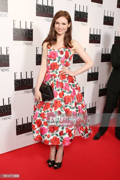 Sophie EllisBextor attends the Elle Style Awards 2013 at The Savoy Hotel on February 11 2013 in London England
